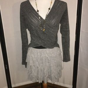 Top and Skirt Outfit